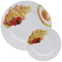 Набор тарелок для блинов Мед (27см, 20см) SNT 30834-01
