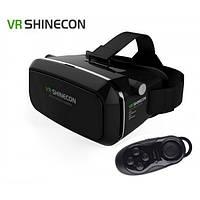 Очки виртуальной реальности с геймпадом  VR SHINECON 3D VR Glasses