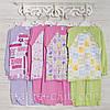 Детские пижамы для девочек 5,6_7_лет, 2207инк,  хлопок-интерлок, в наличии 116,122,128 Рост
