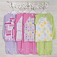 Детские пижамы для девочек _5_6 и 7лет, 2207инк,  хлопок-интерлок, в наличии 116,122,128 Рост