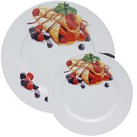 Набор Тарелок для блинов Ягоды (27см, 20см) SNT 30834-02