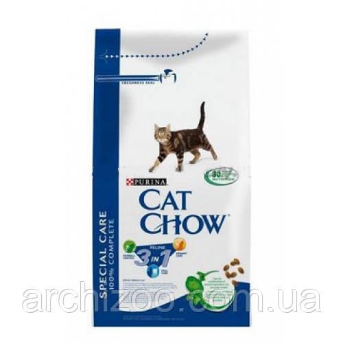 Cat Chow Special Care 3 in 1 15кг для взрослых кошек с формулой 3-го действия