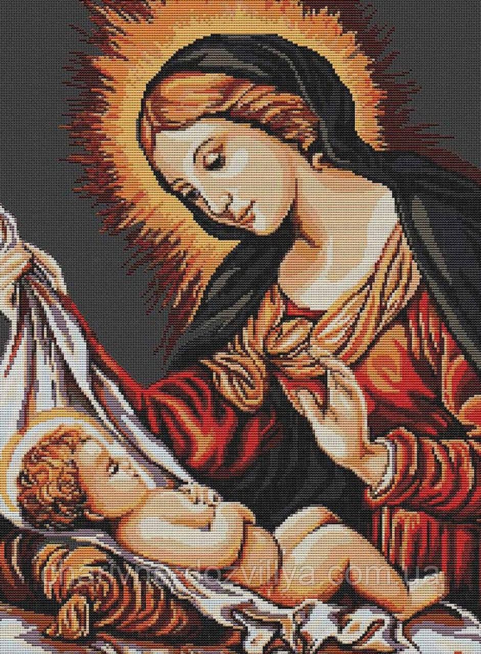 владимирская икона схема для вышивки крестом