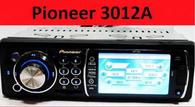 Автомагнитола Pioneer 3012 А экран 3 дюйма FM,USB,SD