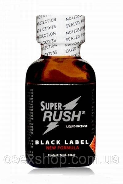 Попперс Super Rush Black Label 24 ml PWD