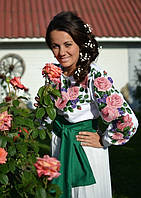 Заготовка жіночої сорочки для вишивки нитками/бісером БС-10