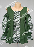 Эксклюзивная женская вышиванка из новой коллекции