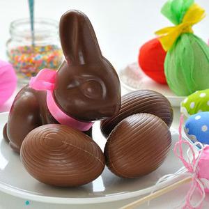 Пасхальные шоколадные фигурки