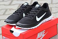 Женские кроссовки Nike Free Run 3.0 черные 1872