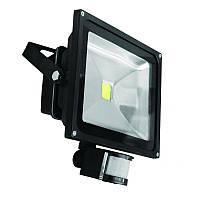 Евросвет Прожектор LED EVRO LIGHT EV-30-01 30W 180-260V  6400K 2100Lm c датчиком