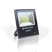 Евросвет Прожектор EVRO LIGHT EV-100-01 100W SMD 180-260V 6400K 9000Lm SanAn   НМ