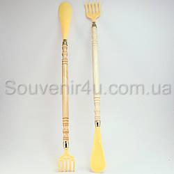 Массажер (чесалка) для спины с лопаткой