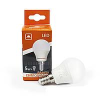 Лампа светодиодная Евросвет шар P-5-4200-27  5вт 230V