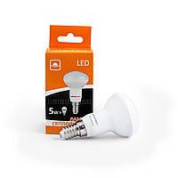 Лампа светодиодная Евросвет гриб R50-5-3000-14 5вт 170-240V