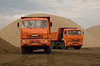 Доставка песка, щебня, гравия в Днепропетровске