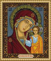 """Набор для вышивки крестиком (религия) """"Казанская Божья матерь"""""""
