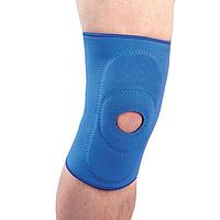 Бандаж на коленный сустав неопреновый с пателлярным кольцом NS-703