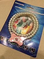 Светящийся ошейник ожерелье из жемчуга для собак и кошек