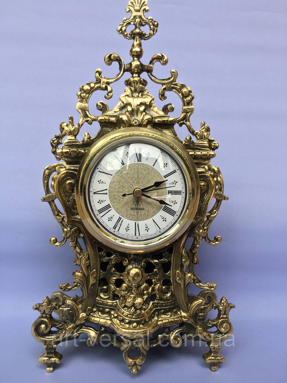 "Часы ""Амур"" на камин бронза"
