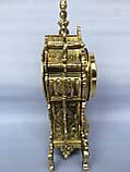 "Часы ""Амур"" на камин бронза, фото 2"