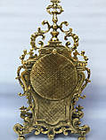 "Часы ""Амур"" на камин бронза, фото 3"
