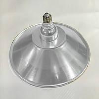 Светодиодная лампа Lemanso 36W + отражатель серебро