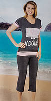 Женская пижама №63028 (капри)