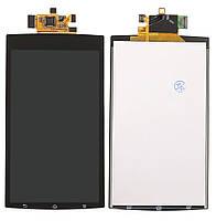 Дисплей Sony LT15i (Xperia Arc) /LT18 (Xperia Arc S) с сенсорным экраном (черный)