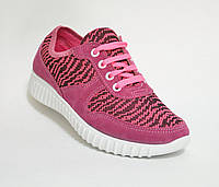 Кроссовки женские розовые Даго, фото 1