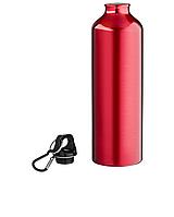 Бутылка для воды с карабином 770 мл, Красная