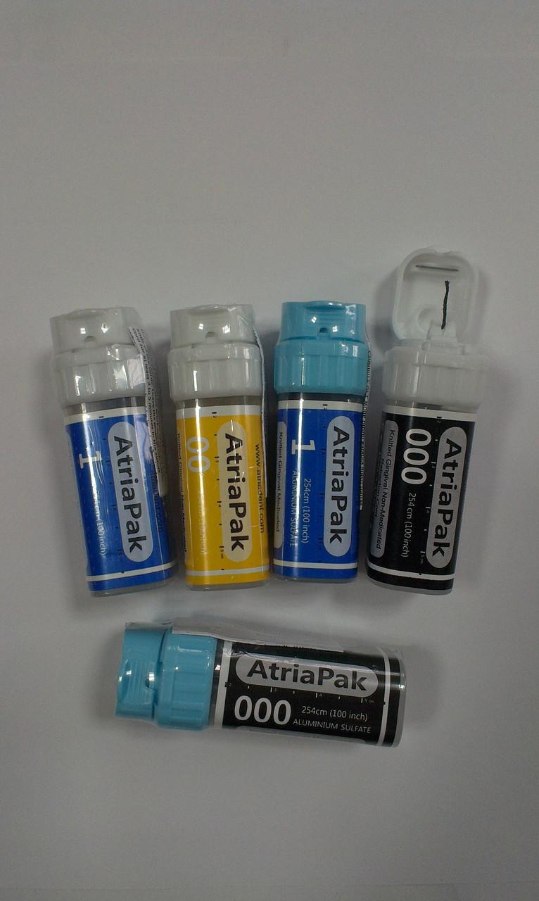 Нить ретракционная АтрияПак (Atria) 000  с пропиткой (сульфат алюминия)