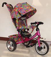 Велосипед трехколесный TILLY Trike, Т-344-2, малиновый