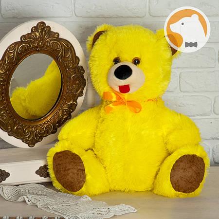 Плюшевый медвежонок Малыш, желтый