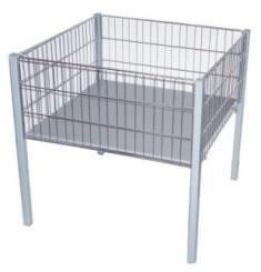 Акционный стол  Корзина напольная 600х600х800h