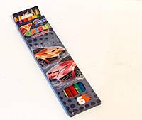 """Олівці пластик. 6 цв № 1051K-6 """"Drive"""" в картоні, европодвес"""