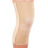 Бандаж эластичный на коленный сустав со спиральными ребрами ES-719