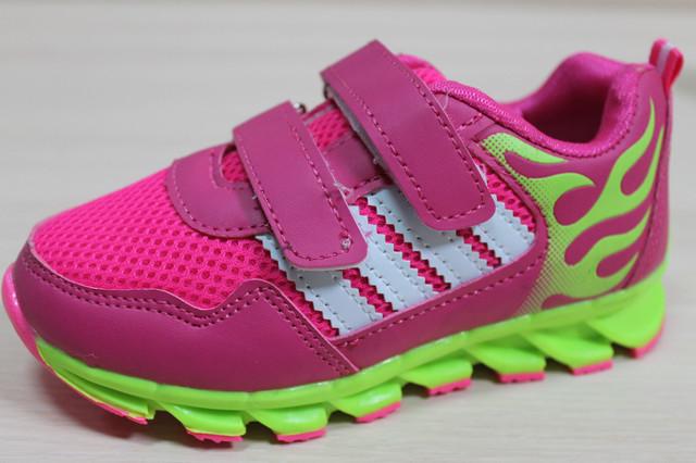 кроссовки розовые пламя style-baby.com