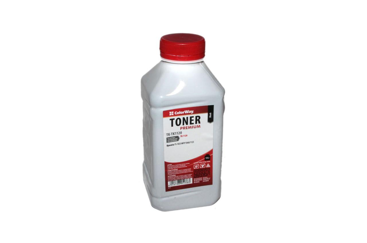 Тонер Kyocera-Mita TK-1120, 115 г, ColorWay (TK-TK1120)