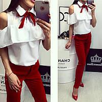 Молодежные женские узкие брюки В10961, фото 1