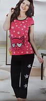 Женская пижама №5428 (капри)