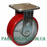 Колесо промышленное большегрузное на неповоротном ( глухом ) кронштейне Ø 200 мм