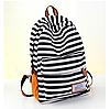 Стильный рюкзак для города в полоску, фото 5