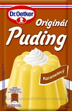 Пудинг карамельный Dr. Oetker karamelovy 40 гр.