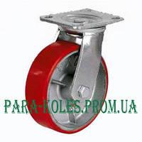 Колесо промышленное большегрузное на поворотном кронштейне  Ø 125 мм