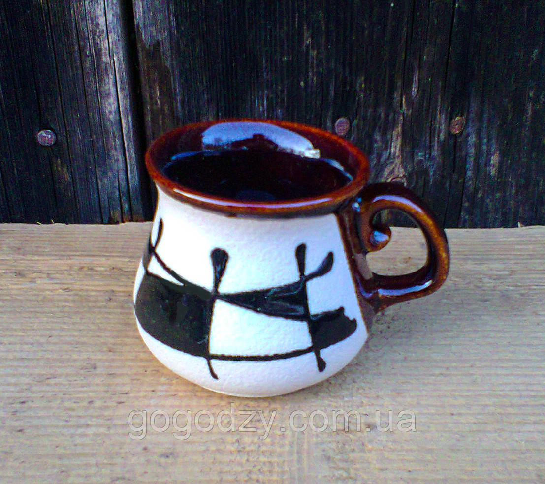 """Горнятко кавове, декор """"Галаретка"""""""
