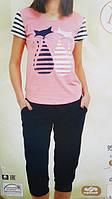 """Женская пижама """"Nicoletta"""" №82356 (капри)"""
