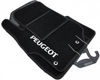 Коврики текстиль Peugeot 301 2013-... k536 черные,  Ciak