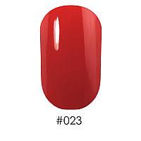 Лак д/ногтей 12 мл Naomi 023 яркий оранжево-красный