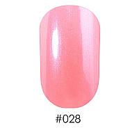 Лак д/ногтей 12 мл Naomi 028 нежный перламутрово-кремовый с розовым оттенком