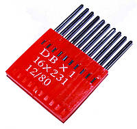 Иглы для промышленных швейных машин MATSA DBx1, 16х231, (12/80)